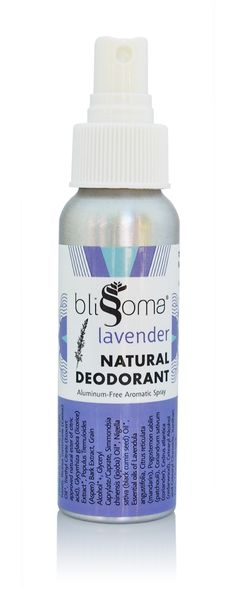 Lavender Natural Deodorant Aromatic Spray by Blissoma