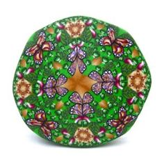 polymer clay nature kaleidoscope by PolymerClayWorkshop, via Flickr