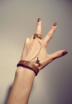 Leather Bracelet Handmade by tjbotique on Etsy