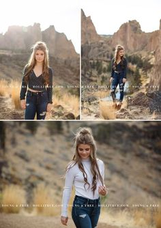 Bend, Oregon high school senior pictures at Smith Rock by Eugene senior portrait photographer, Holli True Summer Senior Pictures, Senior Photos Girls, Senior Girl Poses, Girl Photo Poses, Senior Girls, Senior Posing, Senior Session, Picture Poses, Girl Photos
