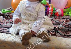 crochelinhasagulhas: Vestido para menina