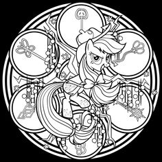 SG Dazzlings coloring Page by