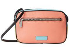 Marc by Marc Jacobs Sally Blocked & Pieced Handbag Spring Peach Multi - 6pm.com