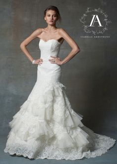 Isabelle Armstrong Bridal Couture Wedding Gown | style Natalia