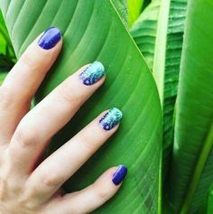 Your paradise awaits for you with 'Tropical Forest' at your fingertips. Romantic Nails, Tropical Forest, Jamberry Nail Wraps, You Nailed It, Nail Art, Beauty, Nail Ideas, Paradise, Star