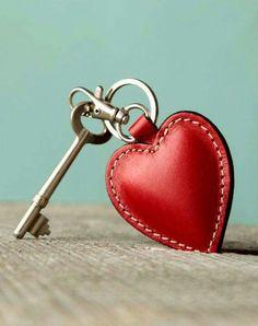 Te doy la llave de mi corazón...
