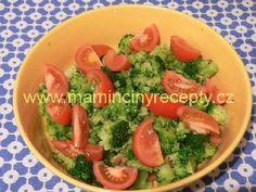 Salát z brokolice a rajčat
