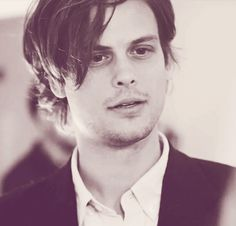 Matthew Gray Gubbler as Dr. Spencer Reid on Criminal Minds.