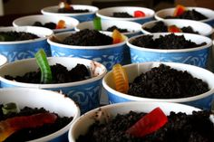 Dirt Cakes for Earth Day. by navygreen, via Flickr