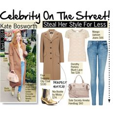 How To Wear Celebrity On The Street Kate Bosworth Outfit Idea 2017 - Fashion Trends Ready To Wear For Plus Size, Curvy Women Over 20, 30, 40, 50