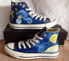 ...Starry Night....Van Gogh al andar...