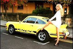 To an auto enthusiast the Porsche 911 Carrera RS has as much sex appeal, if not more, as Beau herself. This car is the granddaddy of the 911 . Porsche Carrera, Porsche 911 Rs, Porsche Autos, Porsche Sports Car, Porsche Models, Porsche Club, Porsche Classic, Sexy Cars, Hot Cars