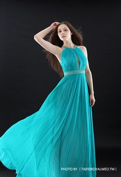 戀愛進化論 鑽藍 - BLUE DRESSES / FORMAL WEDDING - TaipeiRoyalWed.tw 台北蘿亞結婚精品 藍色晚禮服
