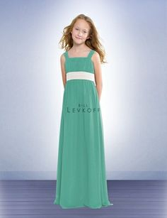 Junior Bridesmaid Dress Of Style 38002 Flower And Bridesmaids By Bill Levkoff