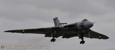 XH558 on approach to RNAS Yeovilton.