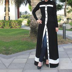 Pearl Abaya / White Abaya / Plus Size Abaya / Abaya with Beads Abaya Fashion, Muslim Fashion, Modest Fashion, Girl Fashion, Fashion Dresses, Modest Outfits, Abaya Noir, Mode Abaya, White Maxi Dresses