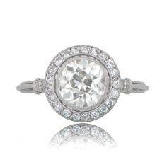 Diamond Ring with halo
