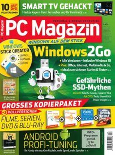 """4 Ausgaben der Zeitschrift """"PC Magazin Classic DVD"""" für 14,99€ mit 10,00€ Gutschein"""