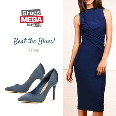 Navy Blue: Το χρώμα για κάθε εποχή! #shoesmegastores #pumps #new #navyblue