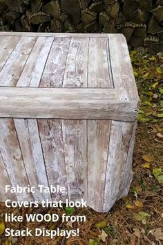Rustic Farmhouse Decor, Rustic Table, Diy Table, Rustic Wood, Rustic Decor, Rustic Barn, Craft Show Table, Catering Table, Rustic Fabric