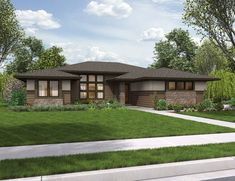 I am more than a little obsessed with this house. Mascord Plan 1247 - The Dallas