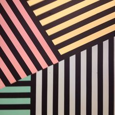 Coloured stripes #pattern #stripes #geo #repeatrepeatrepeat #urbanoutfitters #pastel #patterniseverywhere (at Commercial Street)
