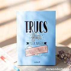 """Livre """"Trucs fun nager dans le bonheur"""" (FR)"""
