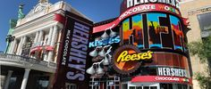 Hershey's Chocolate World Las Vegas store is a two-story destination located within New York – New York Hotel & Casino which features all things...