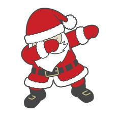 """Dabbing Santa - Ready to Press Heat Transfers Christmas Drawing, Christmas Paintings, Vinyl Style, Dark Material, Ideias Diy, Patterned Vinyl, Santa Christmas, Christmas Trees, Vinyl Crafts"