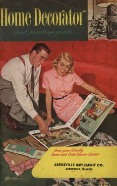 Home Decorator and Planning Guide, 1951. From the Association for Preservation Technology (APT) - Building Technology Heritage Library, an online archive of period architectural trade catalogs. Select a material or era and flip through the pages of complete catalogs.