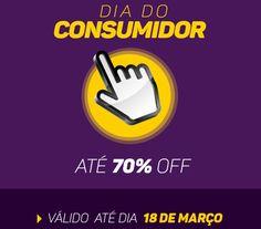Dia do consumidor Natue! São muitas ofertas e promoções até o dia 18/03/2015 é correr para o site e aproveitar os descontos de até 70%...