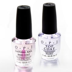 OPI Natural Nail Base Coat & OPI Top Coat
