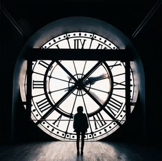 The clock at Musée D'orsay; most instagrammable spots in Paris