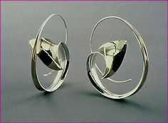 Nancy Linkin 925 silver earrings