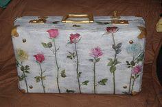 Decoupage on a suitcase. Natalya Deryavova/