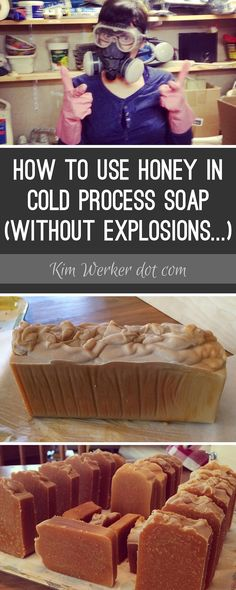 Honey superheats, so be sure to compensate for that when you use it in your cold-process soap. Here are some notes, and a recipe!
