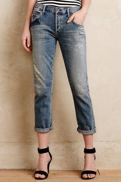 Citizens of Humanity Emerson Boyfriend Jeans - anthropologie.com