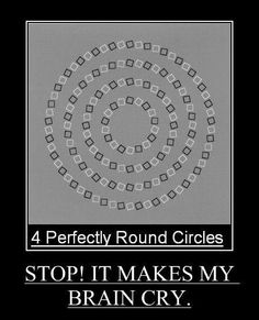 Four Perfectly Round Circles.