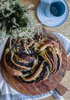 Poppyseed cake Poppy Seed Cake, Breakfast, Food, Morning Coffee, Essen, Meals, Yemek, Eten
