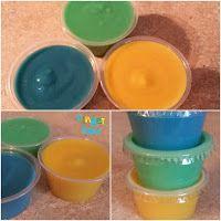 Homemade Finger Paint For Babys &;Toddlers :)