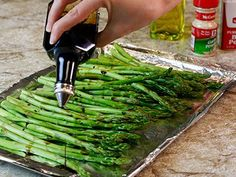 Try this flavorful swap for roasted asparagus.