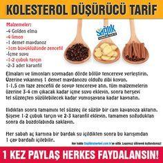 Kolesterol düşürücü tarif! #kolesterol #sağlık #şifalıbitkiler