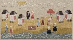 Dames of the Needle,  Nantucket Beach