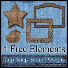 Free Paper Bag Digi Scrapbook Elements Pack 2  ***Join 1,460 people and follow our Free Digital Scrapbook Board. New Freebies every day.
