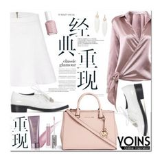 """""""Yoins Collection III"""" by fattie-zara ❤ liked on Polyvore featuring yoinscollection, Essie, CARGO, Michael Kors and Alterna"""