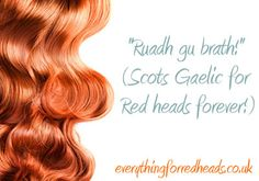 Redheads forever!