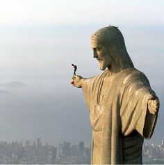 base jumping in rio- if your gonna go, go big