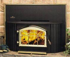 EPI-1402 Deluxe EPA Wood Burning Insert   SmokeyMountainFireplaces.com