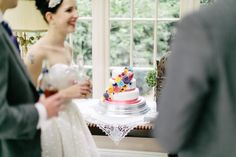 A 50′s Inspired Polkadot Dress for A Quirky and Colourful Country Wedding | Love My Dress® UK Wedding Blog