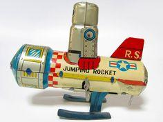 Jumping Rocket Space Car